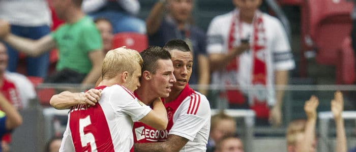 Programma eredivisie speelronde 5 Ajax - Heracles Almelo