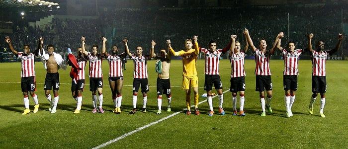 Eredivisie programma speelronde 14 PSV - Feyenoord vi images