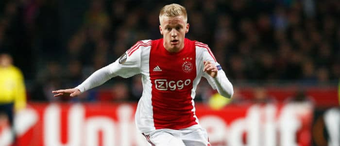 Donny van Beek Ajax Programma Eredivisie Getty