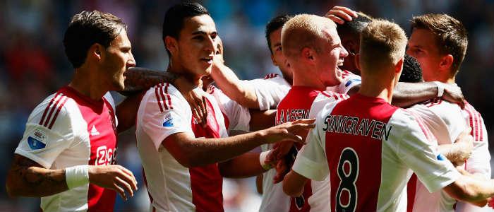 Eredivisie uitslagen voetbal speelronde 23: winst Ajax en PSV Getty