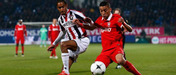 Eredivisie Twente-Groningen Cabral-Ziyech Getty