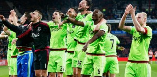 Eredivisie uitslagen voetbal - Ajax wint van PSV Getty