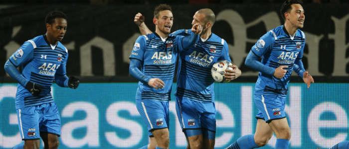 FC Twente – AZ Eredivisie Vincent Janssen VI Images