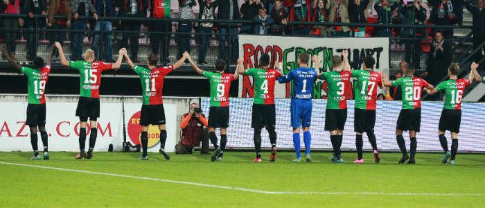 Voetbal Eredivisie Speelronde 27 Ajax - NEC VI Images