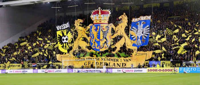 Vitesse - FC Utrecht zespuntenwedstrijd in de Eredivisie
