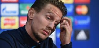 Ajax Kasper Dolberg - PSV Luuk de Jong Getty