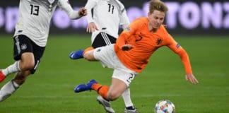 Transfer Frenkie de Jong van Ajax naar Manchester City onzin | Getty