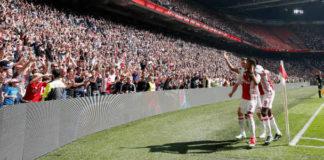 Door winnen Real Madrid - Ajax op plek 11 UEFA lijst. Voorspellen Ajax kampioen Eredivisie | Getty