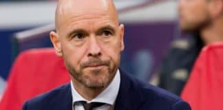 Erik ten Hag blijft trainer Ajax