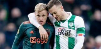 Eredivisie uitslagen: Ajax verliest van FC Groningen en PSV laat punten liggen