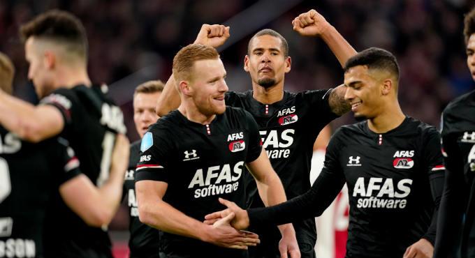 Uitslagen Eredivisie Ajax - AZ en PSV - Feyenoord