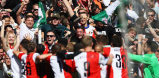 Feyenoord - FC Groningen Eredivisie speelronde 8