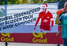 AZ geeft de strijd op eerste plaats Eredivisie nog niet op