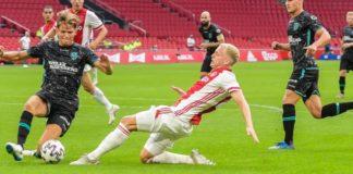 Transfer Donny van de Beek van Ajax naar Manchester United