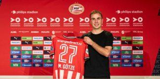 Transfers PSV: vandaag presentatie Mario Götze, Marco van Ginkel en Fein