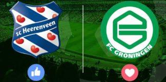 sc Heerenveen - FC Groningen Eredivisie zondag 21 februari