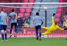 PSV - Ajax gelijkspel, Feyenoord verliest van AZ