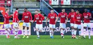 Vitesse - AZ Eredivisie speelronde 25