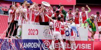 Ajax kampioen Eredivisie 2020 - 2021 en ADO pakt laatste strohalm